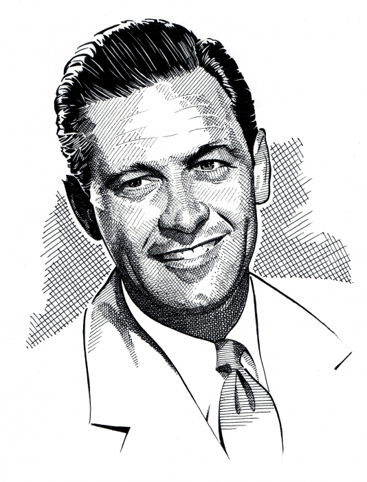 William Holden by Stefanosart